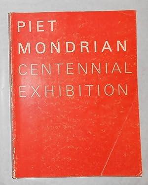 Piet Mondrian 1872 - 1944 - Centennial: MONDRIAN, Piet ]
