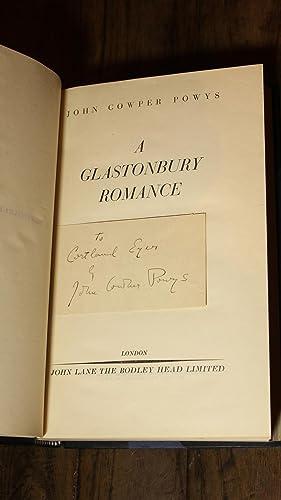 A GLASTONBURY ROMANCE: POWYS JOHN COWPER