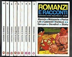 Romanzi e racconti. 12 volumi (1-2-3-4-5-6-7-8-9-10-12-13) della: Aa Vv