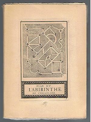 Plan du Labirinte Labyrinte de Versailles: Sébastien Leclerc
