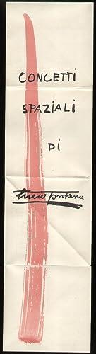 Invito della Galleria Salto alla mostra personale: Bruno Munari Lucio