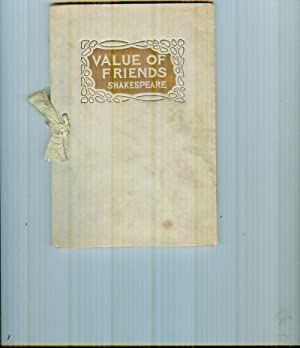 Value of Friends: Shakespeare, William: (with