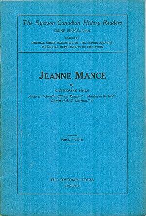 Jeanne Mance: HALE, KATHERINE