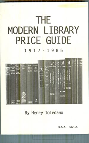 Modern library price guide: henry toledano dlx signed numbered ltd.