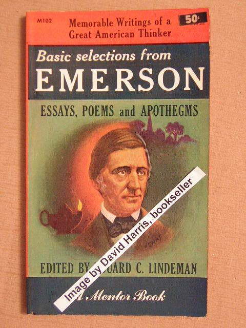 emerson essay the poet Milbank's early essay the name of jesus is still pushing my thought immanent christology, man (awaits accusations of fascism) what is a argument essay this is.