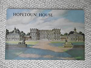 Hopetoun House, West Lothian - An Illustrated: E I Musgrave