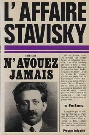 L'affaire stavisky: Paul Lorenz
