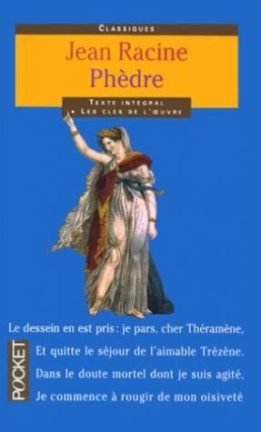 phedre essays Immediately download the phèdre summary, chapter-by-chapter analysis, book notes, essays, quotes, character descriptions, lesson plans, and more - everything you need for studying or teaching phèdre.