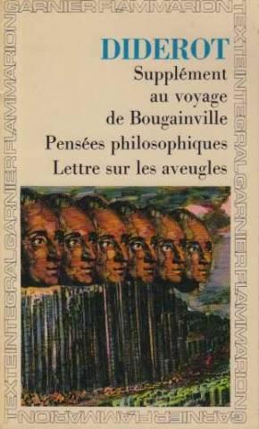 Supplement au voyage de bougainville , pensees: Diderot