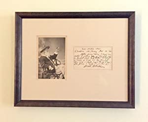 "Autograph Letter Signed mentioning ""Leaves of Grass"",: WHITMAN, WALT"