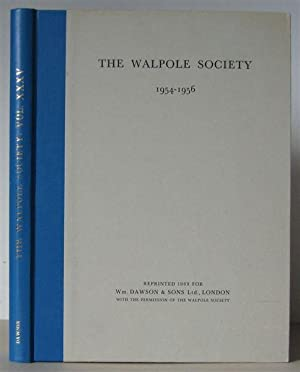 The Third Annual Volume of the Walpole: Walpole Society] Finberg,