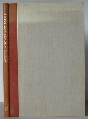 Songs and Poems of John Dryden.: DRYDEN, JOHN. Jones, Gwyne (Editor) & Lavinia Blythe (Illustrator)
