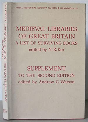 Supplement to the Second Edition of Medieval: Watson, Andrew G.