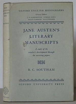 Jane Austen's Literary Manuscripts: A Study of: Austen, Jane 1775-1817]