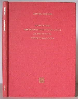 Osservazioni che servono di continuazione al trattato di Teofilo Gallaccini. Venice, 1771.: ...