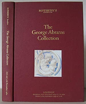 The George Abrams Collection: A Sale Catalogue.