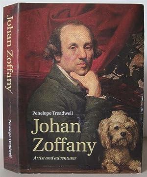 Johan Zoffany: Artist and Adventurer.: Zoffany, Johan Joseph 1733-1810] TREADWELL, PENELOPE.