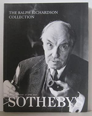 The Ralph Richardson Collection; Friday 27th April 2001, Sale no. LO1704.