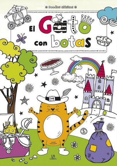 GATO CON BOTAS - DOODLES CLASICOS - Equipo editorial