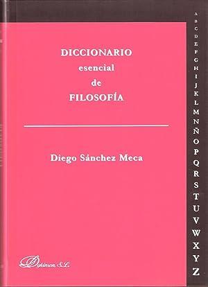 DICC. ESENCIAL FILOSOFIA: SANCHEZ MECA, Diego