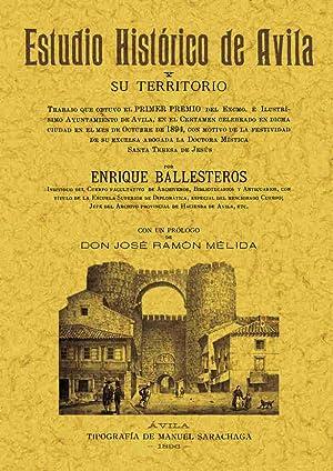 ESTUDIO HISTORICO DE AVILA: BALLESTEROS ENRIQUE