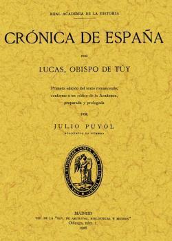 CRONICA DE ESPAÑA: Lucas Obispo de Tuy