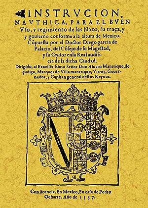 INSTRUCCIÓN NAUTICA PARA NAVEGAR: GARCÍA DE PALACIO,