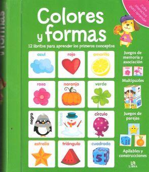 COLORES Y FORMAS - COFRE INTERACTIVO PARA APRENDER: Equipo editorial
