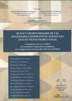 RETOS Y OPORTUNIDADES DE LAS SOCIEDADES COOPERATIVAS: MORILLAS JARILLO, Maria