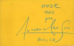 Onze Nus Par Lucien Clergue: Clergue, Lucien