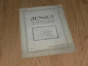 Aengus an All Poetry Journal Number Three: Stuart, H,.Lyster, M.,