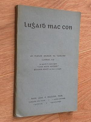 Lughaidh Mac Con: Ua Laoghaire, an