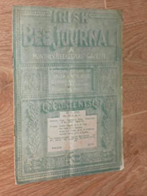 Irish Beekeepers Journal a Monthly Beekeepers' Gazette.: Digges, J. G.