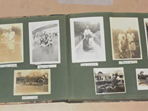 Photograph Album with Circa 270 Photographs with Images of British people and Places from 1923 to...