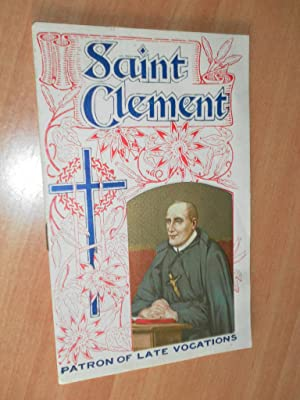 Saint Clement Patron of Late Vocations: Anthonian Press