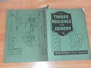 Brooks, Thomas & Co. Limited Dublin Timber and Joinery Catalogue: Brooks Thomas