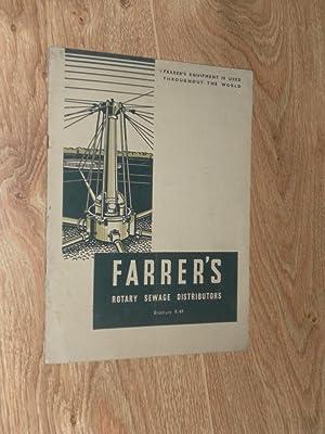Farrer's Rotary Sewage Distributors: William E. Farrer Limited