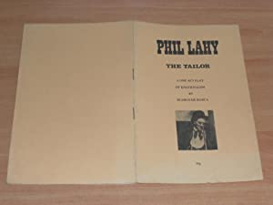 Phil Lahy the Tailor a One Act: De Burca, Seamus
