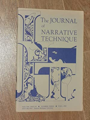 The Journal of narrative Technique Volume 12.: Perkins, George et