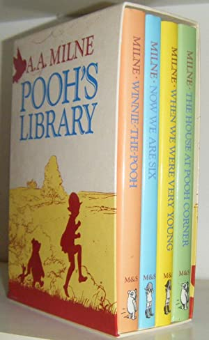 Pooh's Library: Winnie-The-Pooh, Now We Are Six, When We Were Very Young, The House At Pooh ...