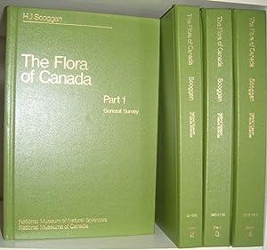 Flora of Canada - 4 Volume Set: Scoggan, Homer J.