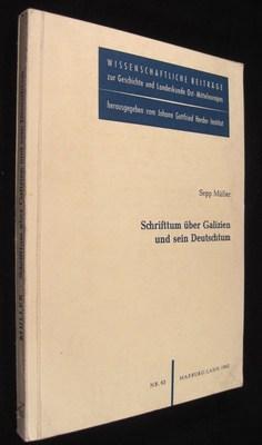 Schrifttum über Galizien und sein Deutschtum