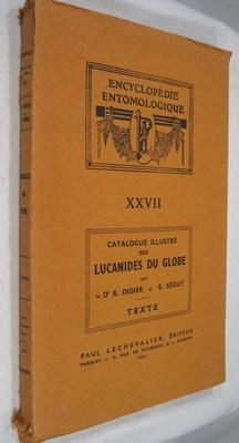 Catalogue Illustre Des Lucanides Du Globe: Texte: Didier, Dr. R.;
