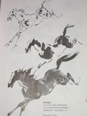 The Way to Paint Horses