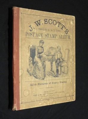 J. W. Scott's Best Postage Stamp Album: With Pictures of Every Stamp