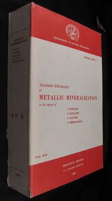 Special Paper 2: Annotated Bibliography on Metallic Mineralization in the Regions Of Noranda, ...
