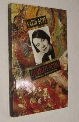 Complete Poems: Boye, Karin
