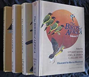 The Birds of Africa: Volumes I, II, III, IV (4 volumes)