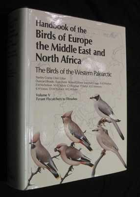 Handbook of the Birds of Europe, the: Cramp, Stanley (Editor)