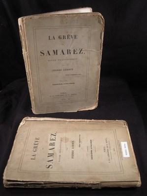 La Greve de Samarez, Poeme Philosophique (Premiere et Deuxieme Livraison): Leroux, Pierre